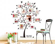 Sticker perete Family Photo Tree
