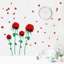 Sticker perete Flying Roses