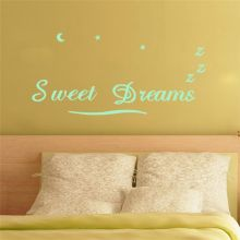 Sticker perete Glow in the Dark Sweet Dreams