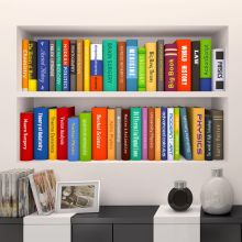 Sticker perete Library 3D 30 x 90 cm set 2 buc