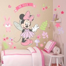 Sticker perete Minnie 88 x 68 cm