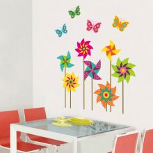 Sticker perete Paper Windmills