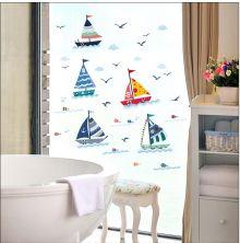 Sticker perete Sailing Race