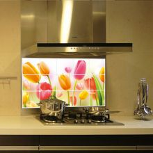 Sticker perete Tulips Kitchen Decor