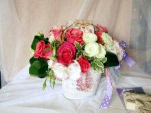 Galetusa cu trandafiri