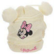 Boneta Minnie bebe-Crem