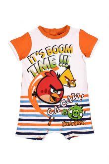 Combinizon Angry Birds bebe-Portocaliu