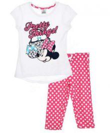 Pijama ¾ Minnie -Alba