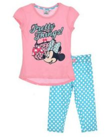 Pijama ¾ Minnie -Roz