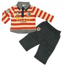 Set 2 piese tricou+pantal Mickey