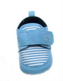 Adidasi dungi cu velcro-Bleu