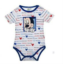 Body MS Mickey bebe-Albastru