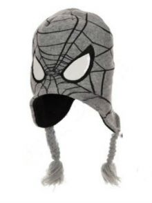 Caciula Spiderman-Gri