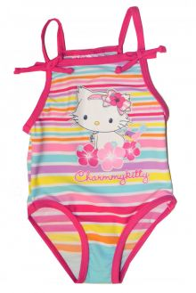 Costum baie Kitty bebe-Roz