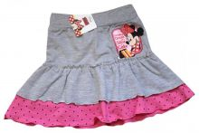 Fusta Minnie Mouse-Gri/Roz Roz 2-3ani(92-98cm)