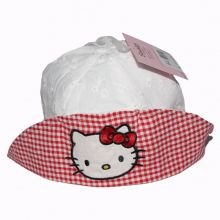 Palarie Hello Kitty -Alb