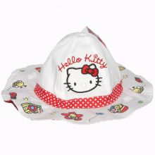 Palarie Hello Kitty-Alb