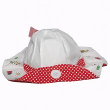 Palarie Hello Kitty-Alb Alb 50cm(2-3ani)