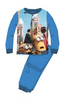 Pijama Minions -Albastru