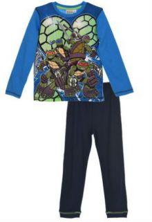 Pijama ML baieti TESTOASELE NINJA -Albastru 3ani(98cm)