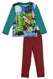 Pijama ML baieti TESTOASELE NINJA -Verde