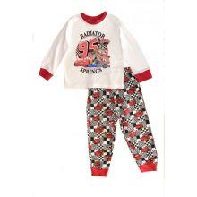Pijama ML CARS -Alb Alb 8ani(128cm)