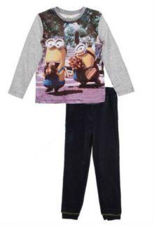 Pijama ML Minions -Gri