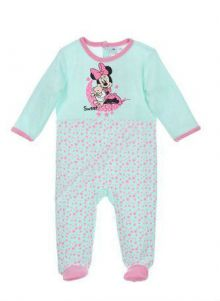 Pijama ML Minnie bebe-Turcoaz