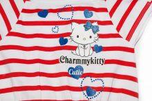 Rochita Hello Kitty Alb/Rosu 4ani(104cm)
