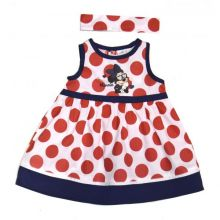 Rochita MS bebe Minnie -Rosu