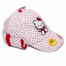 Sapca Hello Kitty -Alb Alb 50cm(2-3ani)