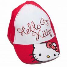 Sapca Hello Kitty -Rosu Rosu 54cm (5-8ani)