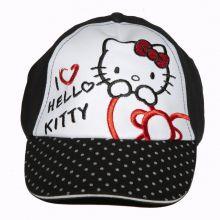 Sapca Hello Kitty-Negru Negru 52cm (3-5ani)
