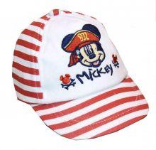 Sapca Mickey bebe-Rosu