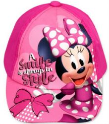 Sapca Minnie Mouse -Fuchsia