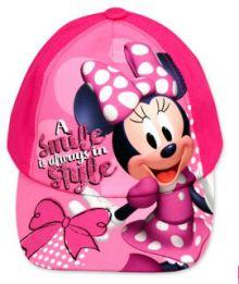 Sapca Minnie Mouse-Roz