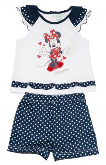 Set bluza+Pantalon scurt Minnie