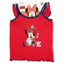 Set maiou+chilot Minnie Mouse Rosu 6-8ani
