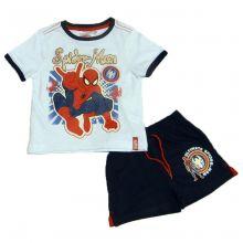 Set  tricou ms-PS Spiderman-Alb