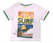 Set tricou + PS Minions-Alb