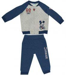 Trening bebe MICKEY-Albastru/Crem