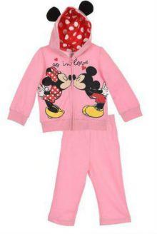Trening Minnie bebe-Roz