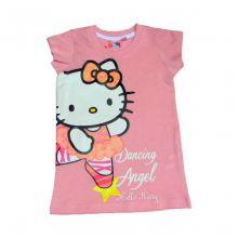 Tricou Lung MS Kitty -Roz Roz 6ani(116cm)