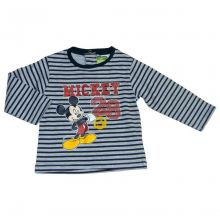 Tricou ML Mickey bebe -Gri