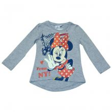 Tricou ML Minnie -Gri Gri 8ani(128cm)