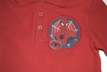Tricou ML  Polo  Spider-Rosu
