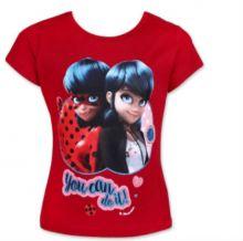 Tricou MS LadyBug- Rosu