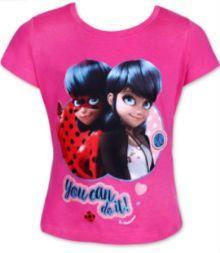 Tricou MS LadyBug- Roz