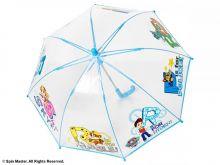 Umbrela transparenta Paw Patrol