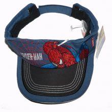 Viziera - sun visor (cozoroc) - Spiderman - Bleumarin